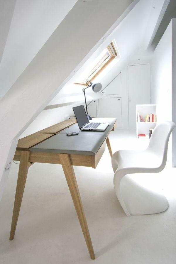 Arbeitszimmer design  panton stuhl weiß designer stühle arbeitszimmer skandinavisches ...