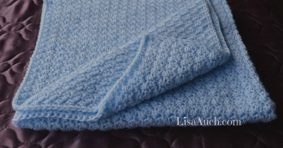 Easy Crochet Baby Blanket Pattern Free Crochet Pattern Afghans