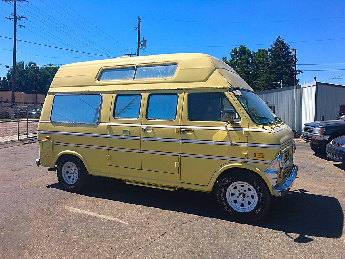 Econoline Ford Camper Van For Sale