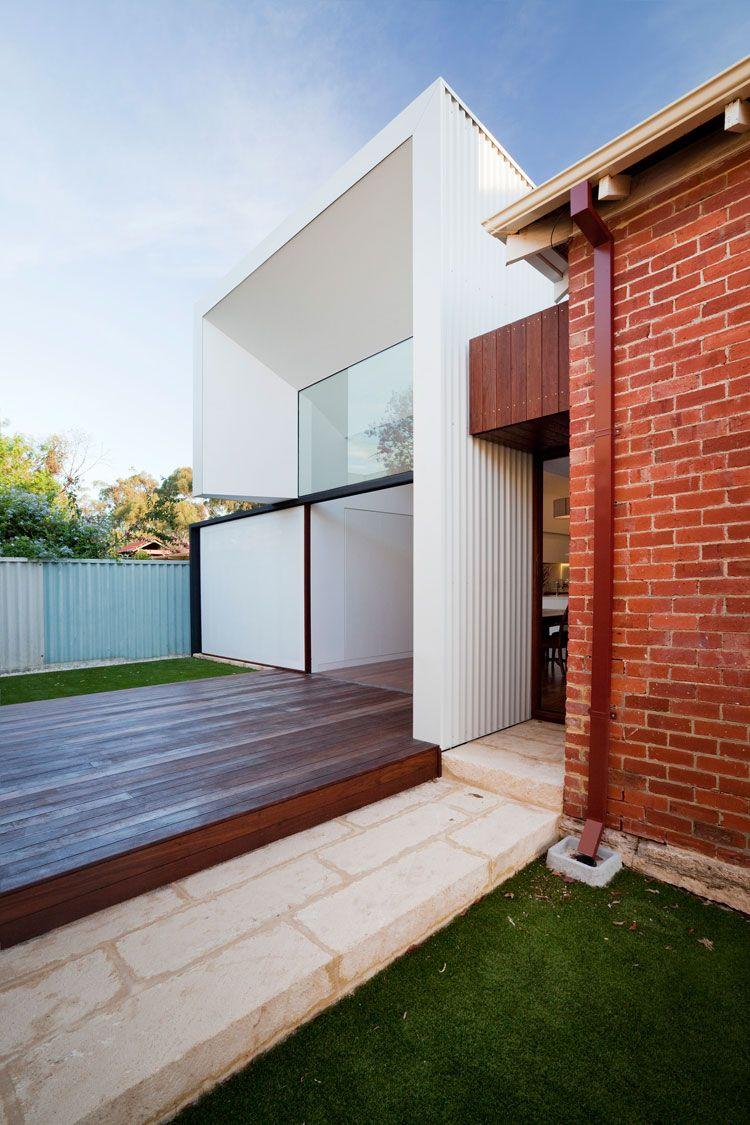 Contemporary exterior innovative designs colorbond contemporary - Colorbond Steel Modern House Designmodern