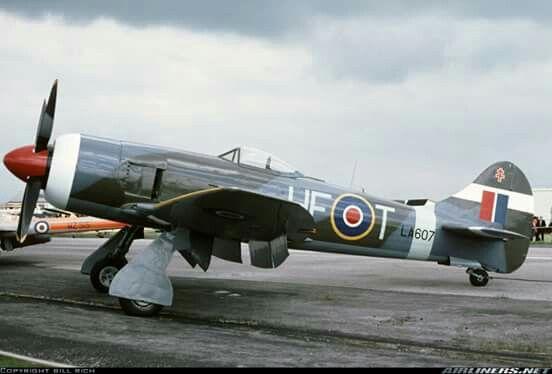 Hawker Tempest Mk II  Hawker tempest Wwii aircraft Hawker typhoon