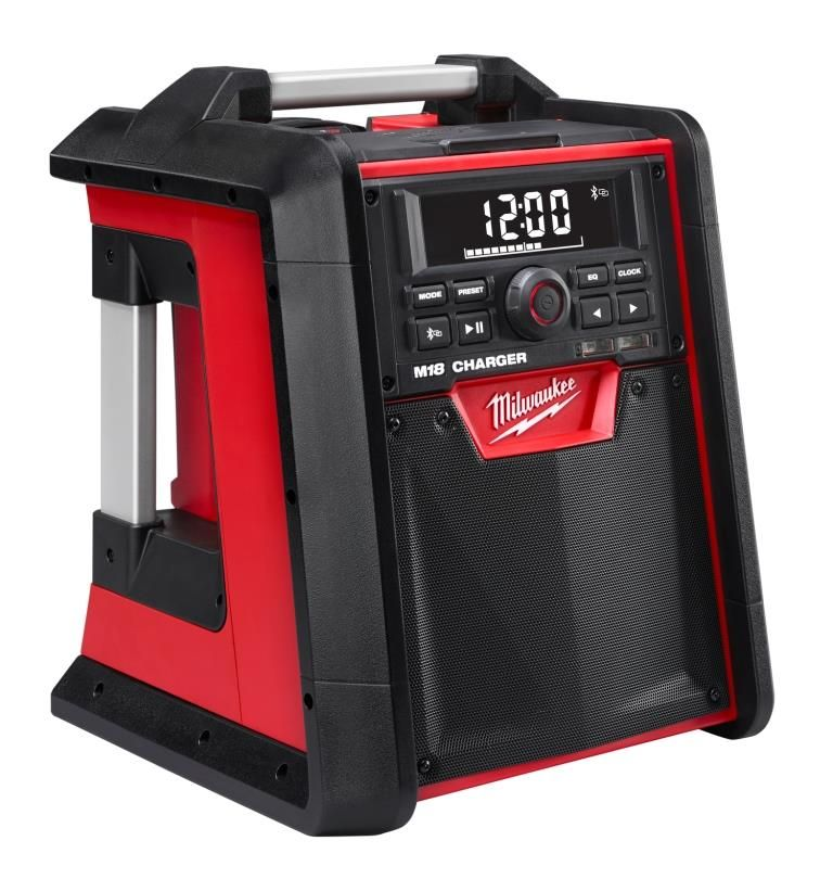 Milwaukee M18 Radio Charger With Bluetooth Tools Of The Trade With Images Milwaukee Milwaukee Tools Tools