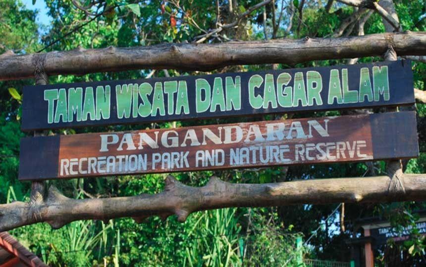 Wisata alam pangandaran