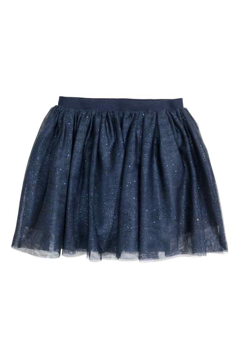 478a63dabdeab Тюлевая юбка - Темно-синий - Дети