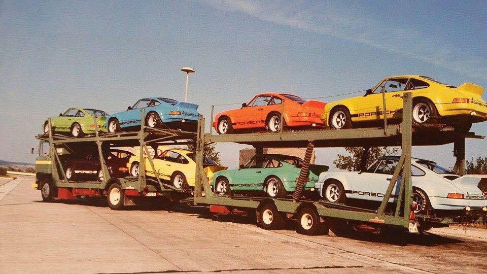 Porsche 911 transporter