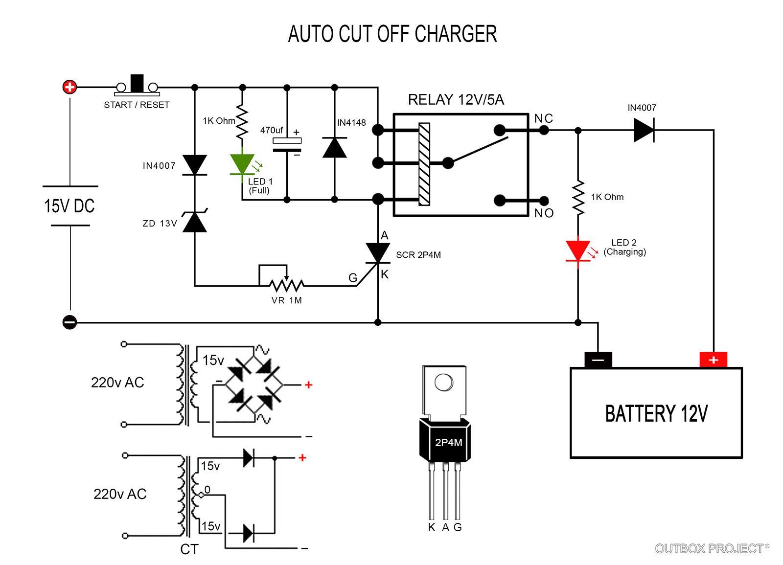 Cara Kerja Charger Ini Bekerja Secara Straight Alias Arus Mengalir 12v 25w Dc Voltage Converter Circuit 2 Basiccircuit Langsung Dari Source Menuju Aki
