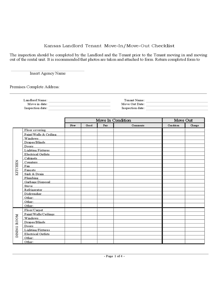 Image result for move out inspection checklist for