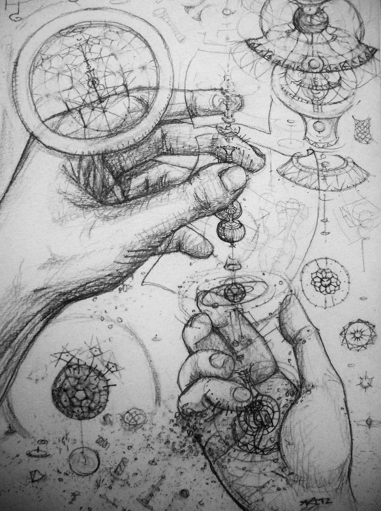 Axis Mundi axis mundi tuning fractals and sketchbooks