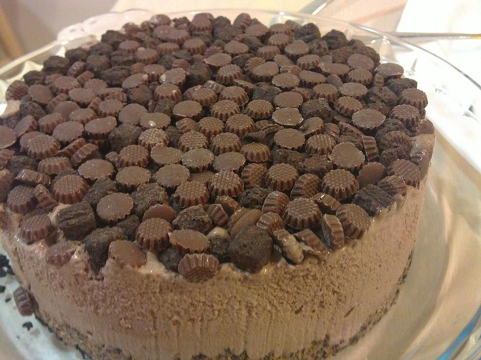 Easy Chocolate Ice Cream Cake Recipe Food Desserts Pinterest