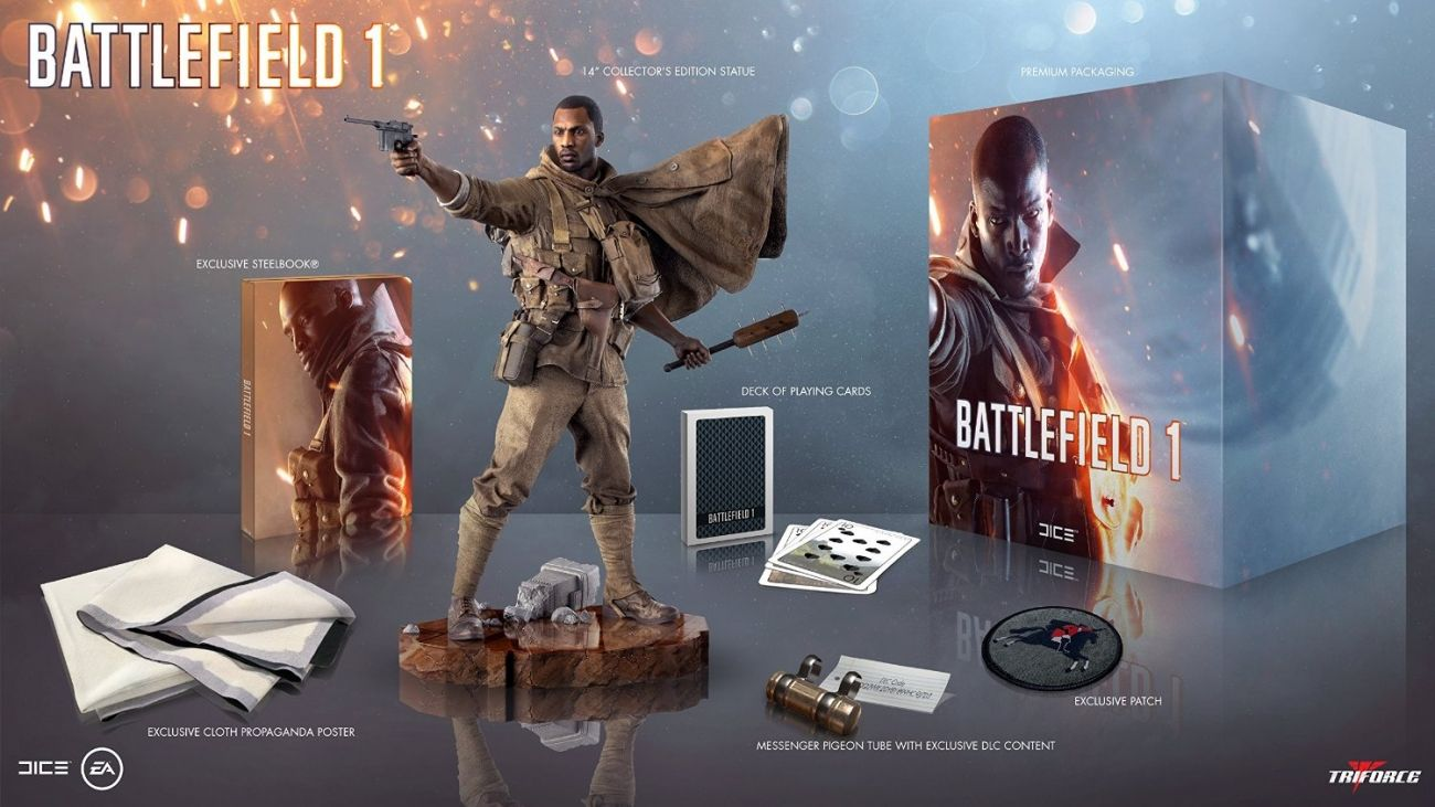 Battlefield 1 Collector S Edition Includes Playing Cards Cloth