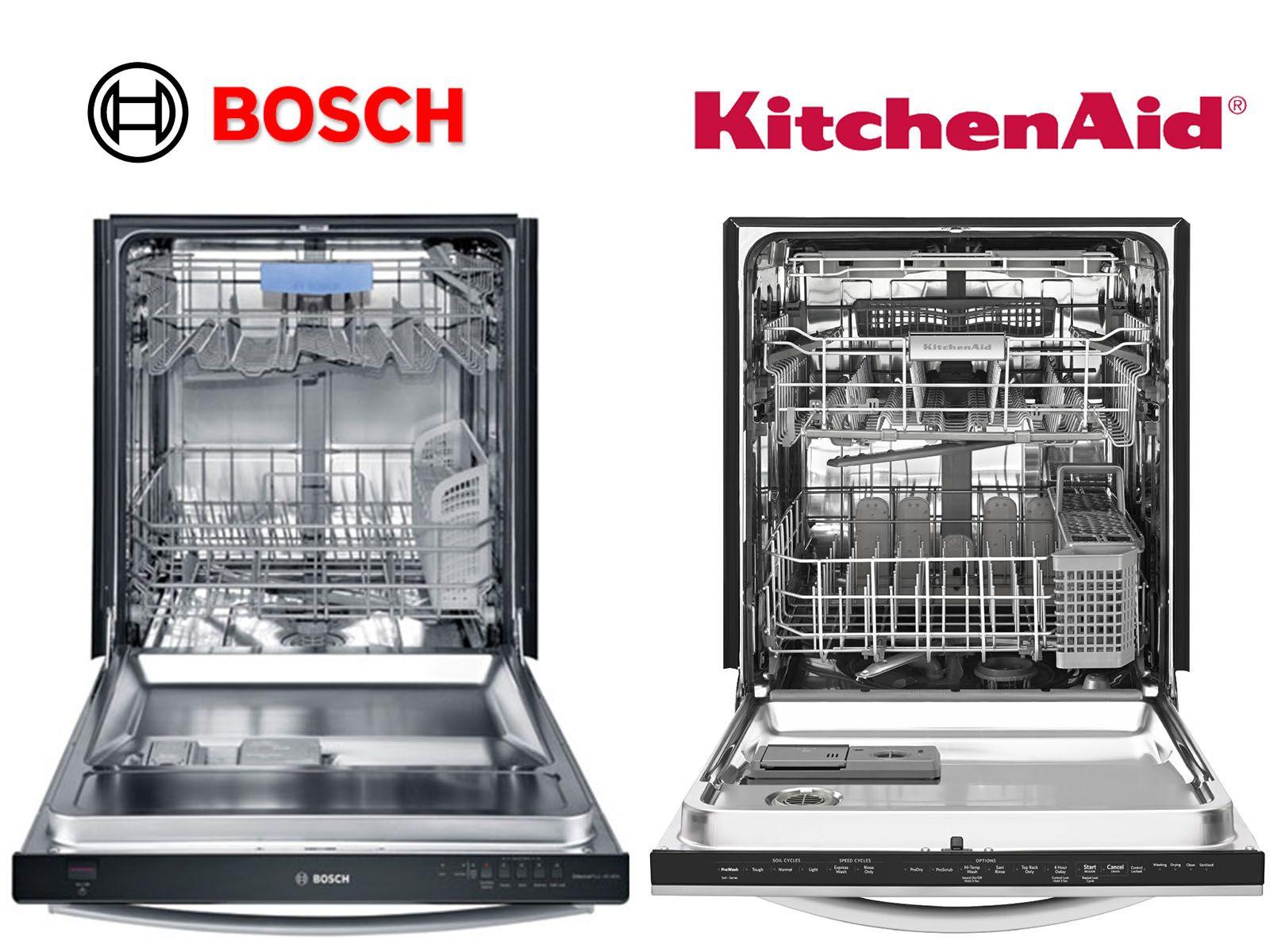 When We Compare Kitchenaid Dishwashers To Bosch Dishwashers It Is Like Comparing A Fuji Apple T Kitchenaid Dishwasher Appliance Repair Service Appliance Repair