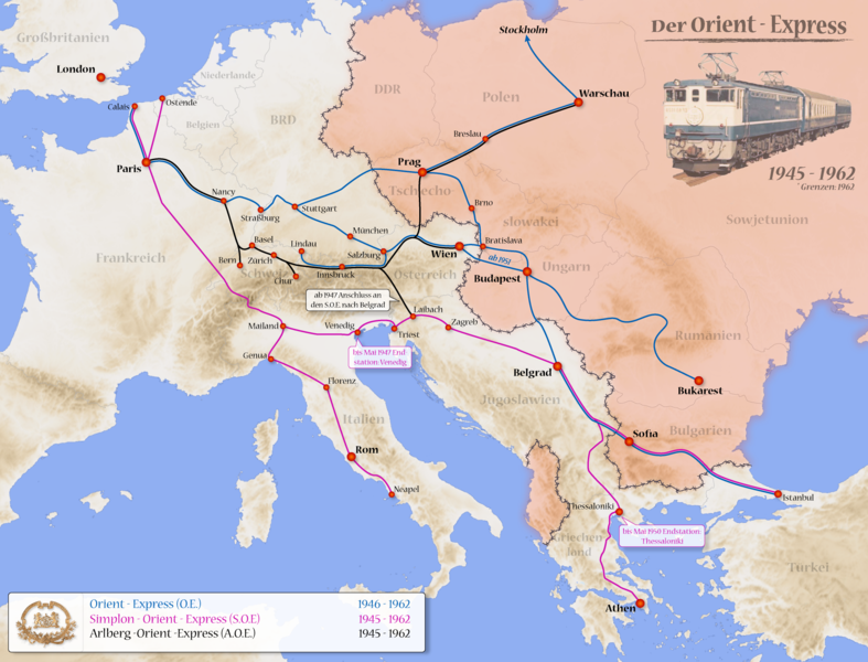 Ride The Orient Express Orient Express Travel Art Central And Eastern Europe