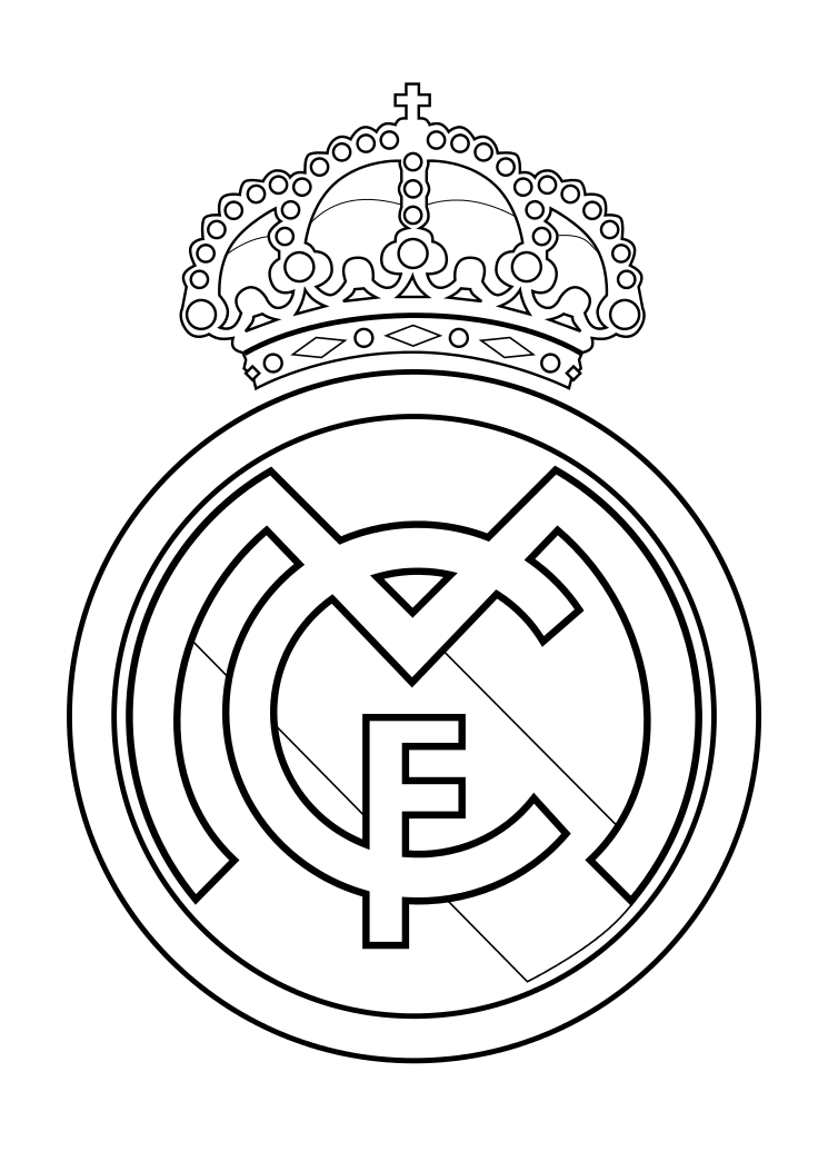 Pin de stephanie Suriel en 5 Min | Real madrid logo, Real madrid