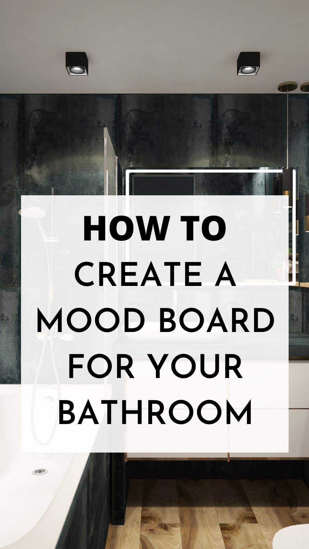 Photo of How to create a mood board for your bathroom