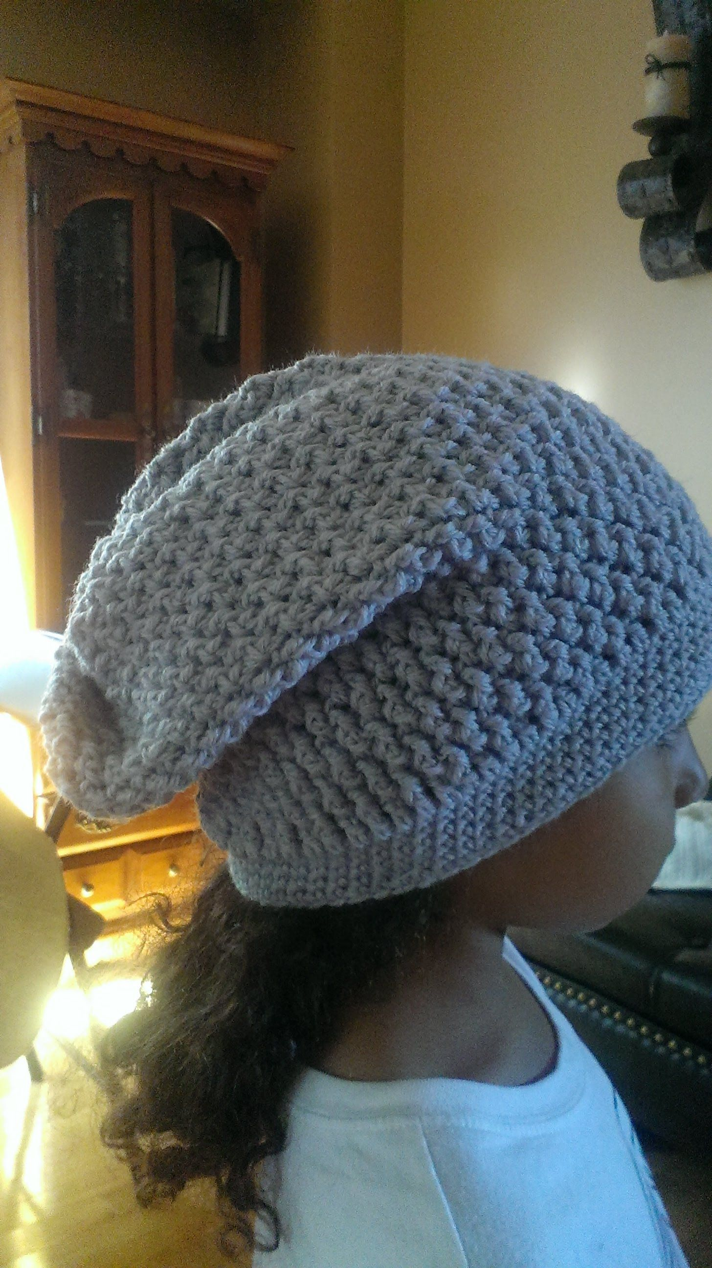 Diy How To Crochet A Slouchy Hat Super Easy For Beginners Also