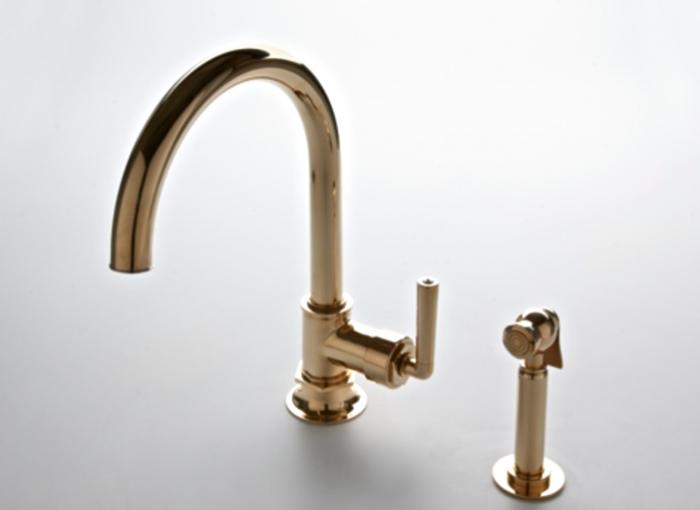 5 Favorites Brass Faucets For The Kitchen Brass Kitchen Faucet Brass Faucet Waterworks Kitchen