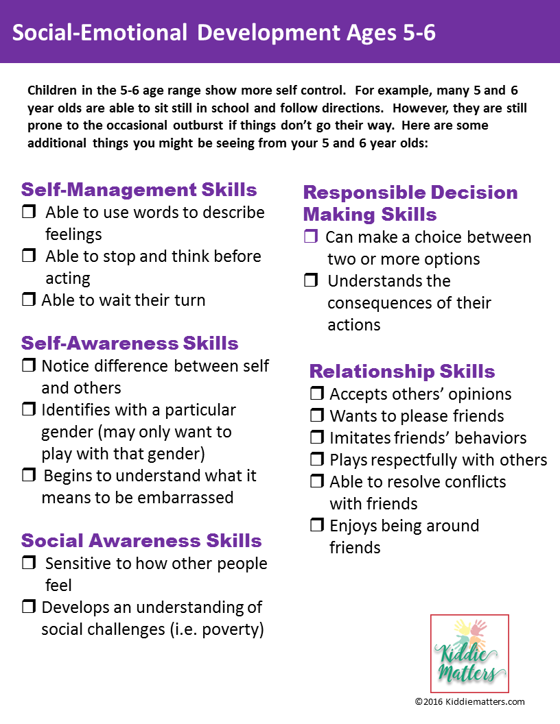 Social Emotional Developmental Checklists For Kids And Teens Kiddie Matters Social Emotional Emotional Development Social Emotional Development