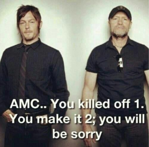 The Walking Dead Merle And Daryl