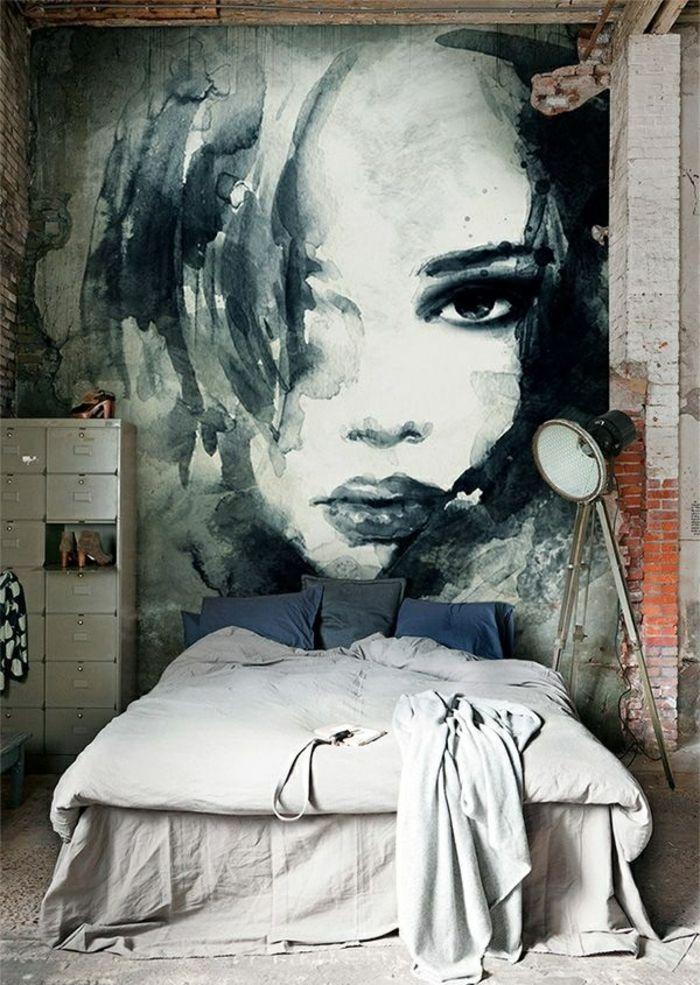32 wandfarben ideen mit aquarell die sie begeistern. Black Bedroom Furniture Sets. Home Design Ideas