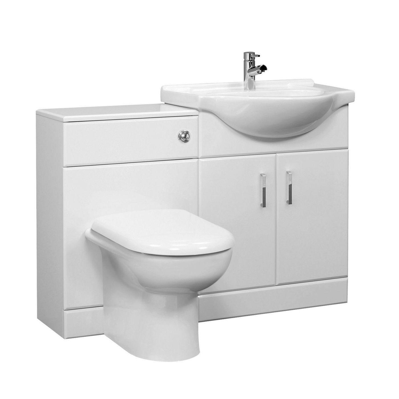 White Bromley Furniture Pack - Image 1   Bathroom   Pinterest ...