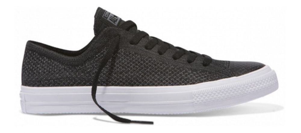 9946c907 CONVERSE CHUCK TAYLOR ALL STAR X NIKE FLYKNIT LOW TOP Black Size 9.5 (43) # ChuckTaylor
