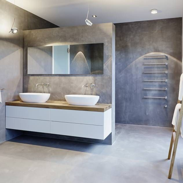 Badezimmer Ideen Design Und Bilder In Architecture - Badezimme