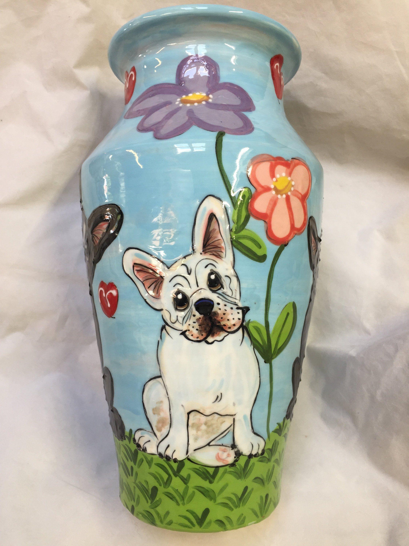 Urn Dog Urn Frenchie Pet Urn Pet Cremains Pet Memorial