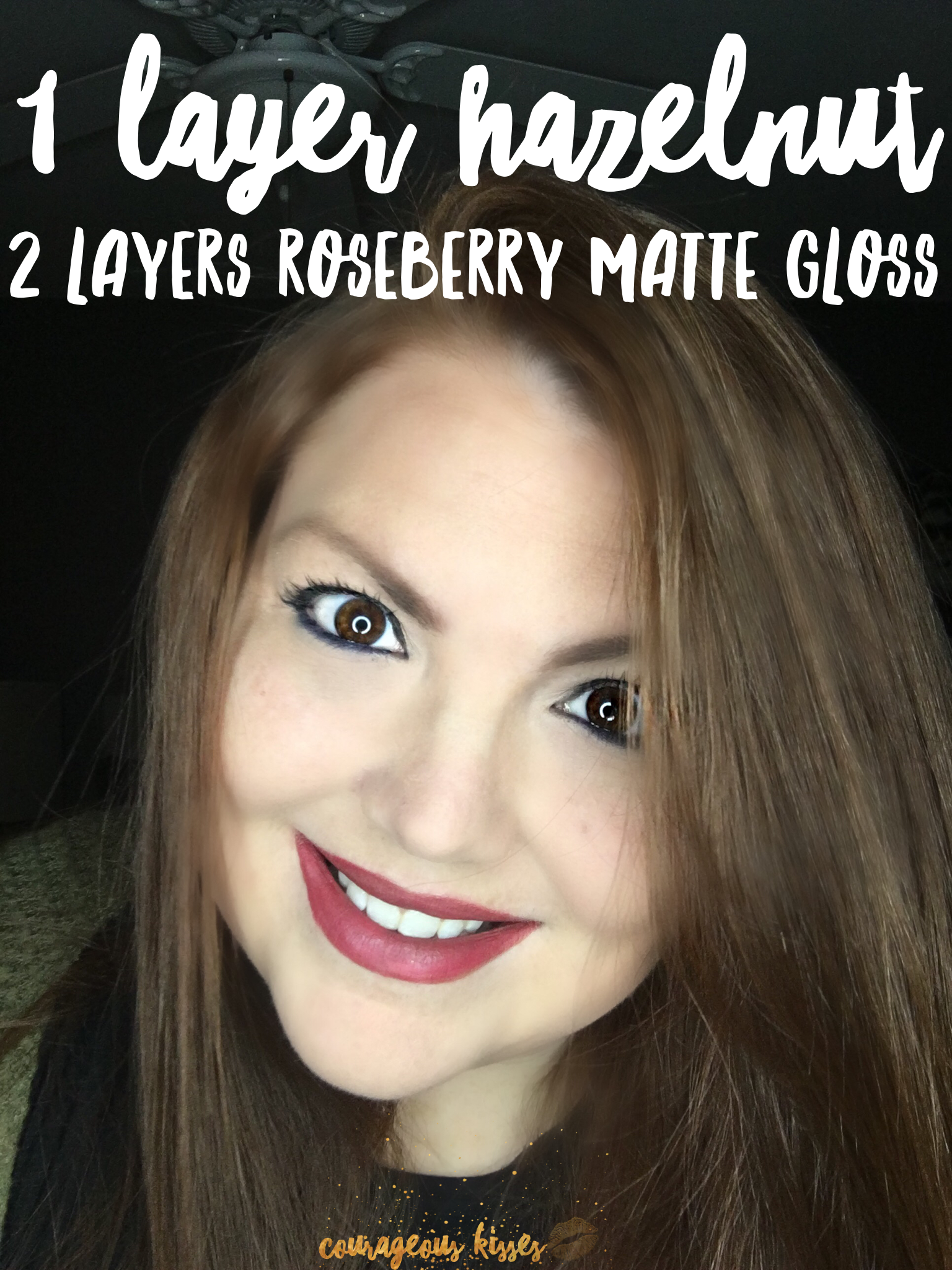 Lipsense Makeup: 1 Hazelnut 2 Roseberry Matte Gloss LipSense Www