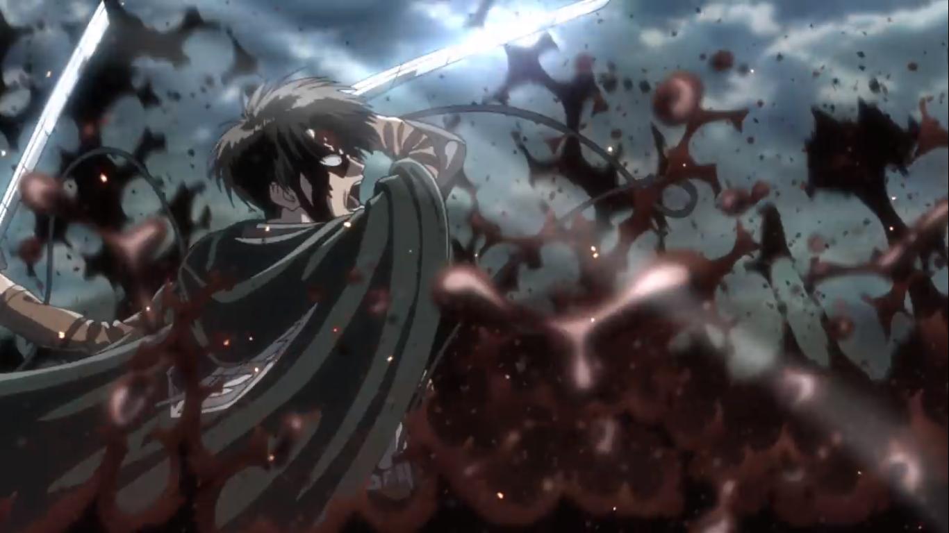 Levi Vs Beast Titan Kyojin Shingeki No Kyojin Shingeky