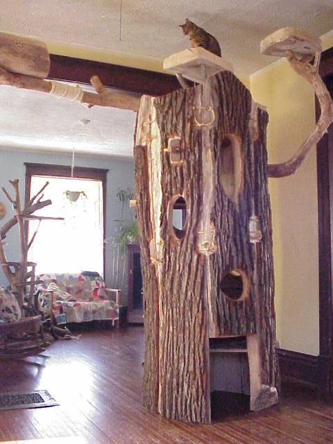 Tree House Plans Free   DIY Cat tree/house - Page 2 - Cat Forum ...