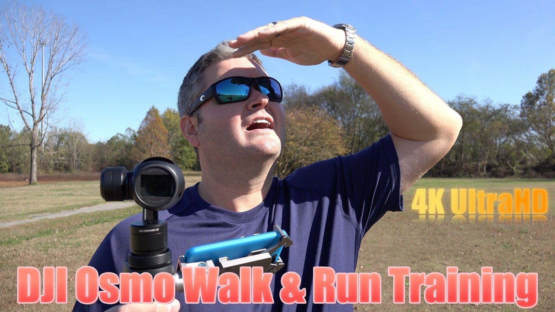 "DJI Osmo Walk & Run Technique for ""Flying"" Look"