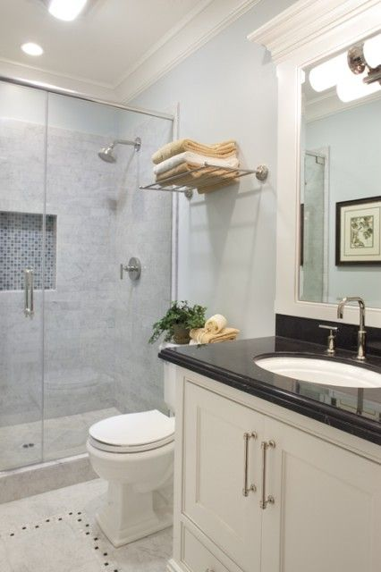 Love This Small Master Bath And Paint Mountain Mist Quot 868