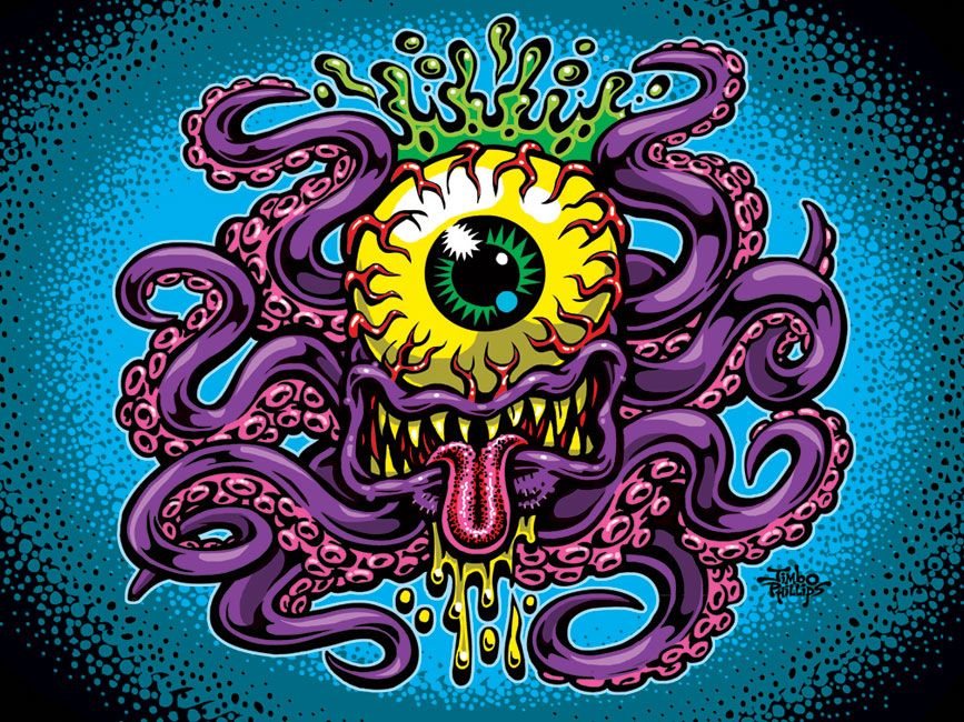 Cycloptopus by Jimbo Phillips (With images) Art