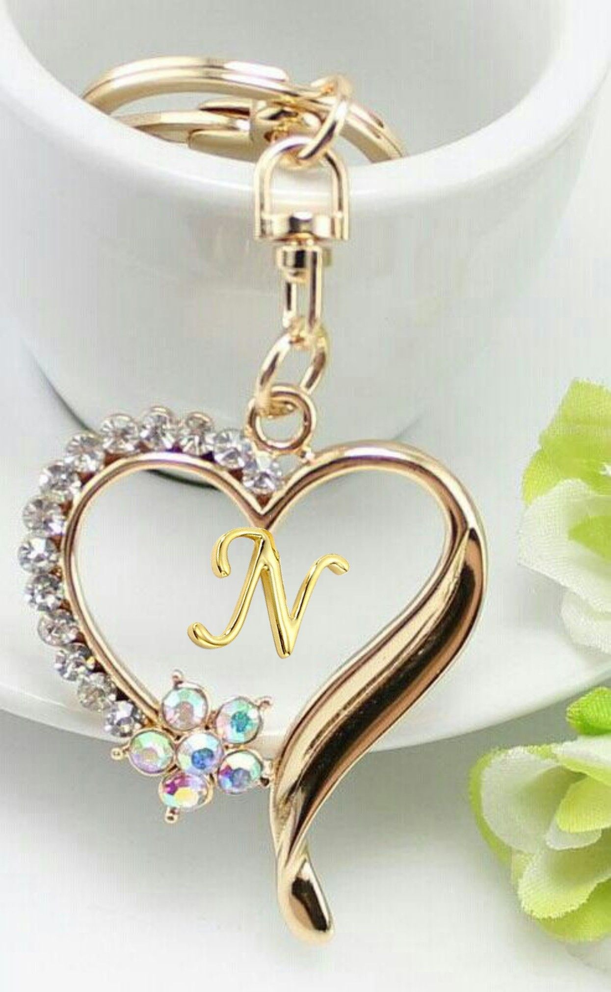 Pin by N R on N | Alphabet wallpaper, Love you images
