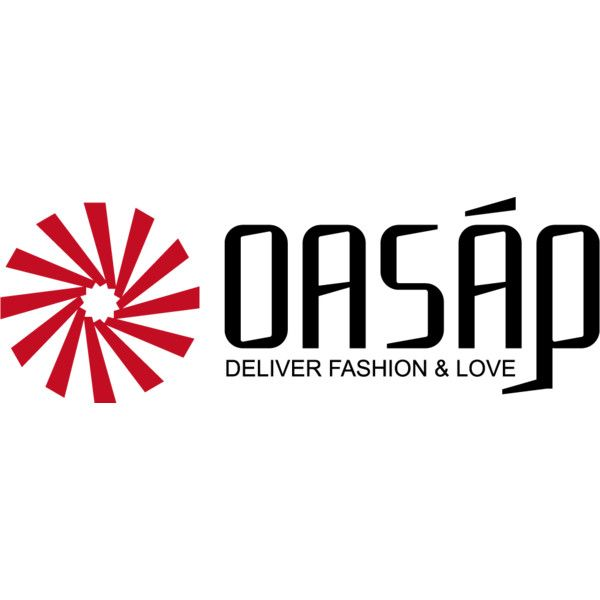 oasap logo ❤ liked on Polyvore