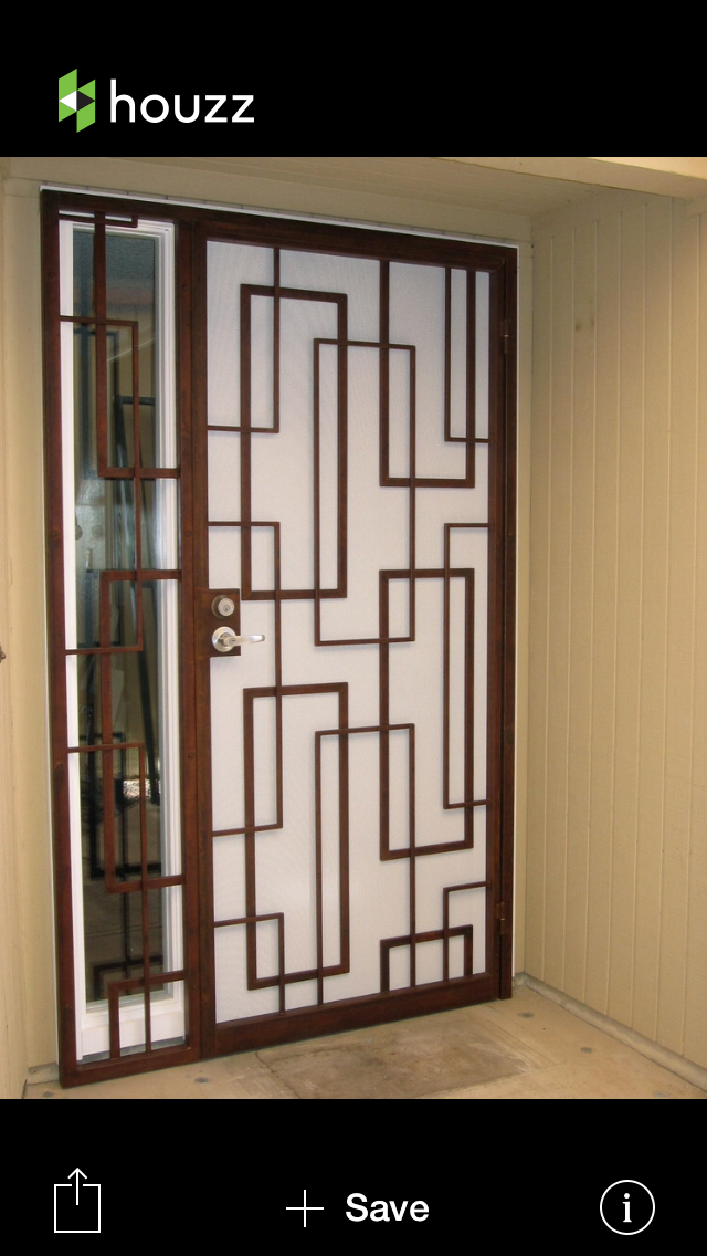 Pin By Jenny Schleppegrell On Mcm Home Exterior Modern Closet Doors Security Screen Door Ceiling Design Living Room