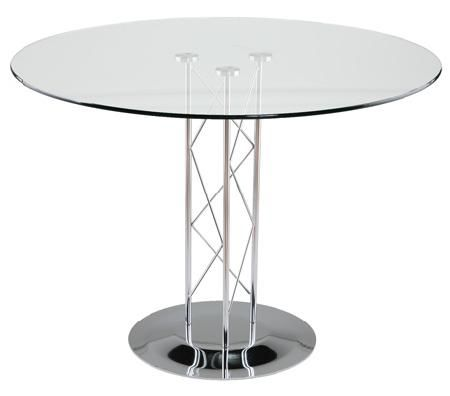 Luxe Event Rentals Llc Chrome Dining Table Dining Table Round