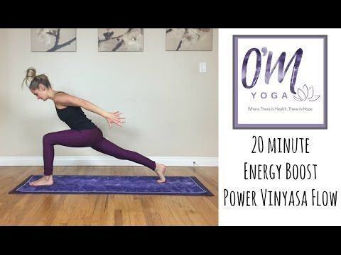power vinyasa yoga  20 minute full body energy boost