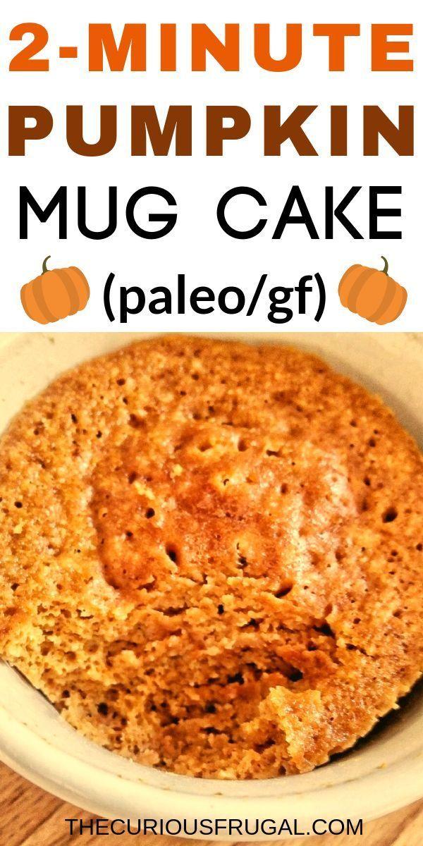 Pumpkin Mug Cake #proteinmugcakes