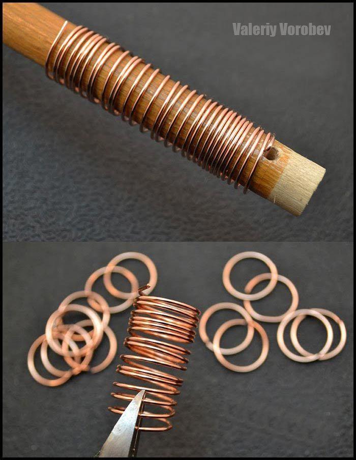 Chain Making Tutorial. Handmade bracelet. - Handmade Jewelry