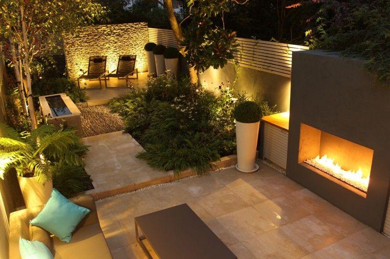 Barnsbury N1 Daniel Shea Garden Design Townhouse Garden Courtyard Gardens Design Contemporary Garden Design
