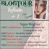 Romance and Fantasy for Cosmopolitan Girls: Blog Tour Infinity + 1 di Amy Harmon
