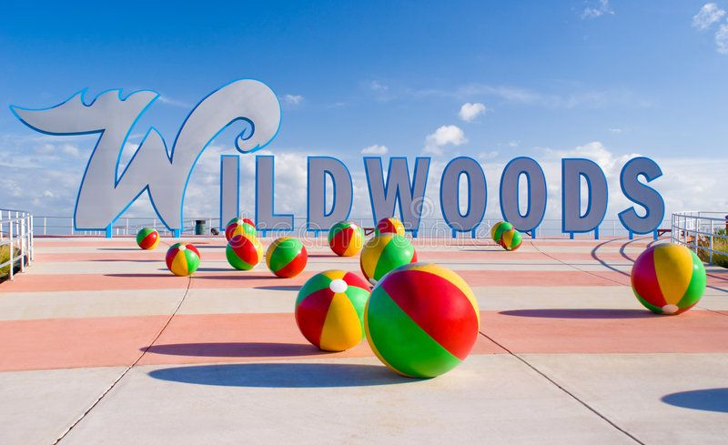 Wildwood. New sign for the City of Wildwood NJ , ad,