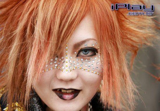 Maquiagem com strass para carnaval | Portal Tudo Aqui