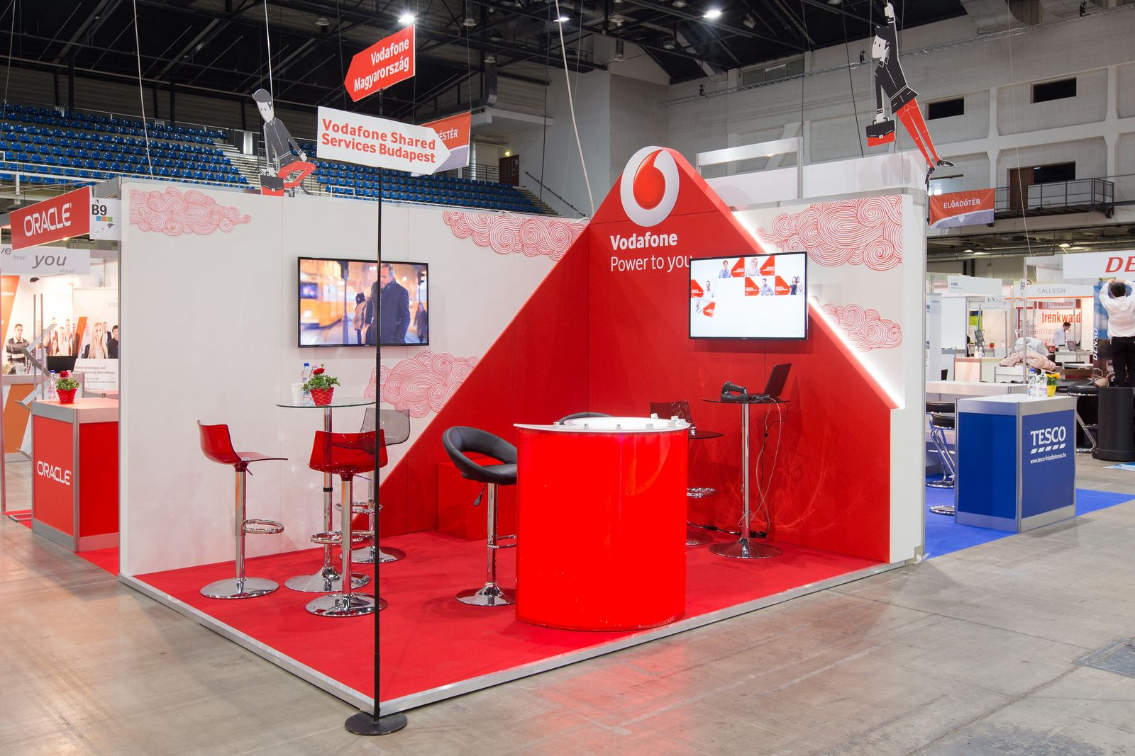 Exhibition Stand Jobs : Hvg job fair exhibition stands small