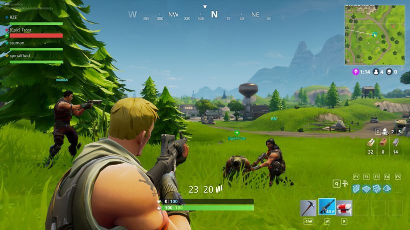 Fortnite 119 Update Adds New Battle Royale And More Patch