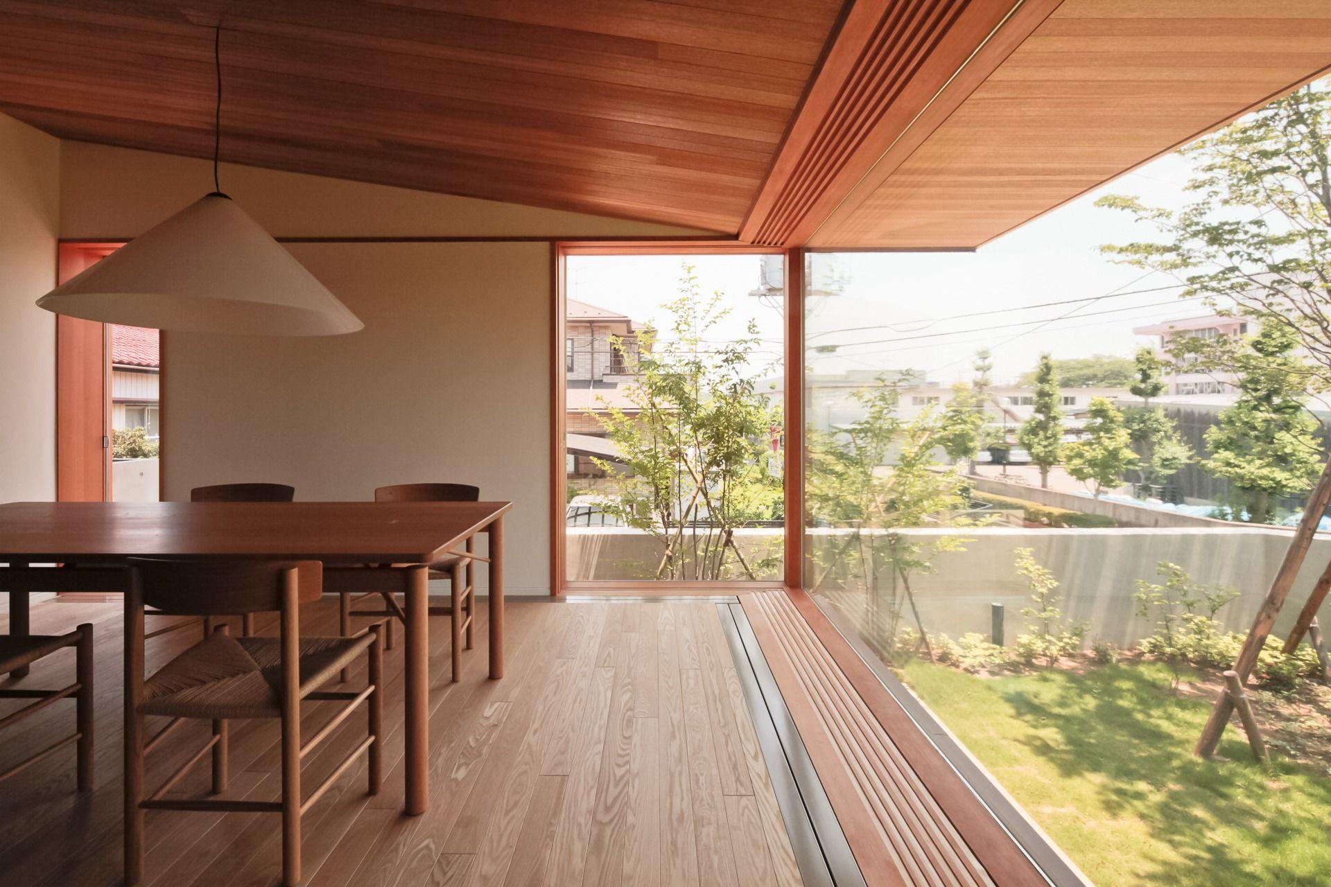 Yashima architect and associates ushiku for Haus innendekoration