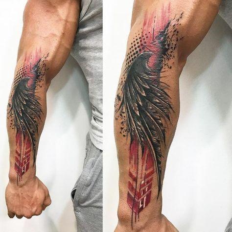 22++ Tatouage ailes avant bras trends