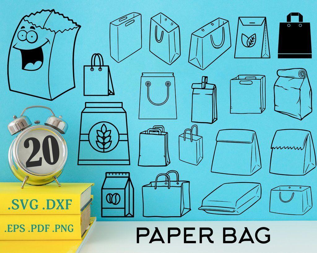 Paper Bag Svg Bag Svg Bag Paper Bag Paper Tote Bag Silhouette Svg Paper Bag Template Silhouette Svg Svg Files In 2020 Business Design Svg Marketing Materials