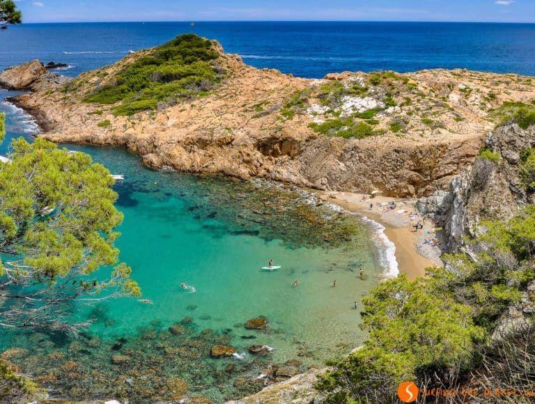 Las 25 Mejores Playas Y Calas De La Costa Brava Calas Costa Brava Costa Brava España Calas